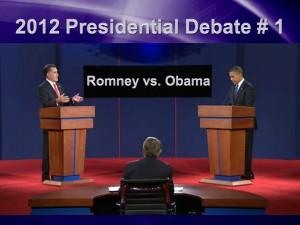 Mitt Romney - Barack Obama - First Debate