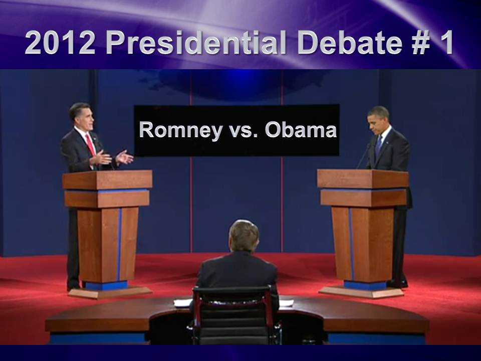 2012 First Debate
